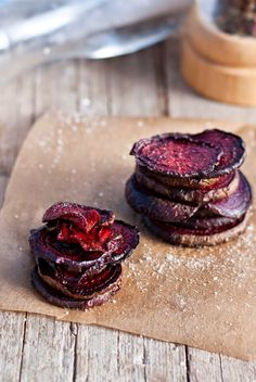 Řepové chipsy, Foto: Sweet pixel blog Beetroot, Co Dělat, Low Carb, Healthy Recipes, Fresh, Chocolate, Cooking, Sweet, Desserts