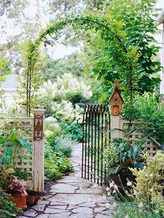 Lady Anne's Charming Cottage: Charming Garden Gateways...