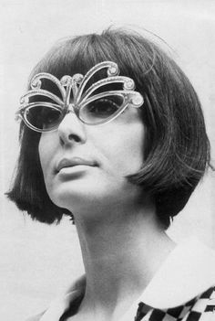 1960s Butterfly Sunglasses.