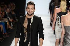 Christopher walks the runway!