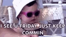"""55 """"Almost Friday"""" Memes - """"I see u Friday, just keep commin."""" Friday Jr, Tomorrow Is Friday, Almost Friday, Happy Friday, Its Friday Quotes, Friday Memes, Weekend Is Coming, Just Breathe, When You Realize"""