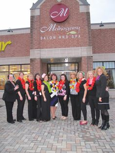 As do our wonderful volunteer stylists! This is from our 2011 event. In 2013 we have moved to a larger location Algonquin College Hair Salon Dept 1645 Woodroffe Rd, Ottawa Algonquin College, College Hairstyles, Real Estate Career, Angel Hair, Fundraising Events, Ottawa, Larger, Salons, Stylists