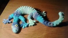 free pattern link adorable gecko