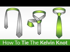 Do you know how to tie a Kelvin Knot? Real Men Real Style has an infographic and step by step instructions to make tying Kelvin knots simple. Tie A Necktie, Necktie Knots, Tie Knot Steps, Real Men Real Style, Cool Ties, Well Dressed Men, Step By Step Instructions, Style Guides, Guy