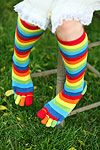 1977 fashion, I had these socks and never wore them because they were too uncomfortable!