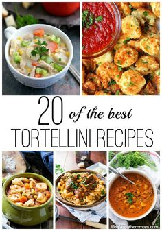 Did you know February 13th is National Tortellini Day? Perfect time to make one of these delicious Tortellini Recipes.