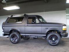 1995 Ford Bronco Xlt Interior 1995 ford bronco xlt in crest