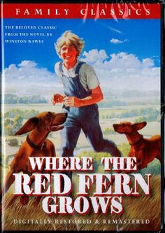 Where the Red Fern Grows DVD ~ James Whitmore, This video remake of the classic is very much like the actual book. It follow the storyline to the letter. The actor are even closely matched to those in the story.  The book and movie are geared toward students in grade 6 through 8. It can be used in a literature lesson or a social studies lesson.