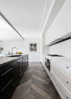 29 Awesome Galley Kitchen Remodel Ideas (A Guide to Makeover Your Kitchen) #onabudget #small #beforeandafter #fixerupper #ideas #narrow #layout #joannagaines #open #island