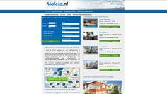 Maleta Boekingssite Desktop Screenshot, Map, Cards, Maps