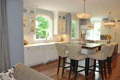 palladia mullion | Contemporary Kitchen design by Portland Kitchen And Bath WoodWorks INC ...