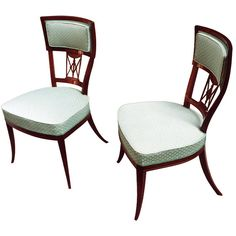 1stdibs - Pair of First Rate Biedermeier Clismos Chairs explore items from 1,700  global dealers at 1stdibs.com