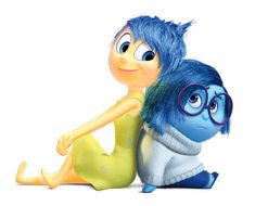 Images of Joy from Inside Out.