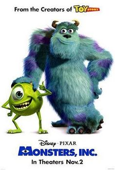 Probably one of my favorite animated movies!  Sully Rocks!