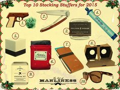 Huckberry's Top 10 Stocking Stuffers for 2015