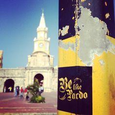 Stickers por toda Colombia. #belikepardo
