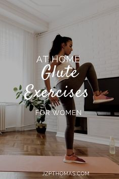 Squats are not the only exercise to help you build your glutes. Keep reading to learn more glute building exercises. Easy Workouts, At Home Workouts, Glute Isolation Workout, Glute Activation Exercises, Home Exercise Routines, Health Tips For Women, Lose Weight In A Week, Fat Burning Workout, Weight Loss For Women