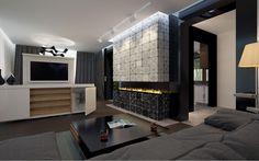 #projekt #domu #wnętrza #salon Jednorodzinny dom parterowy z użytkowym poddaszem, niepodpiwniczony z jednostanowiskowym garażem. Optymalny program pomieszczeń oraz jego układ zapewnia komfort 4,5-osobowej rodzinie. Ten wygodny dom to prosta klasyczną bryła wzbogacona eleganckimi, nowoczesnymi elewacjami. Przestronna część dzienna na parterze, otwiera się na ogród poprzez duże przeszklenia w salonie, jadalni oraz kuchni, wzbogaconej o spiżarnię. Oprócz części reprezentacyjnej na parterze…