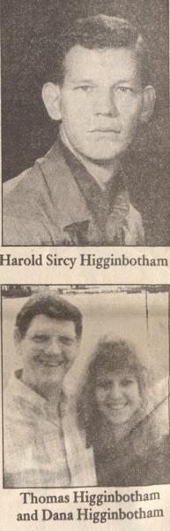 Virtual Vietnam Veterans Wall of Faces | HAROLD S HIGGINBOTHAM | ARMY
