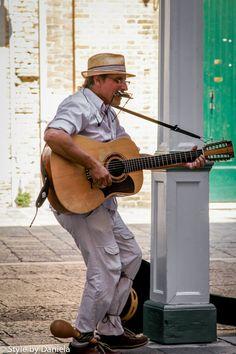 venice - street musician Guitar Art, Guitar Songs, Guitar Outline, Louisiana Art, Street Musician, Eric Clapton, Sound Of Music, Banjo, Musical Instruments