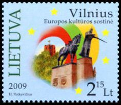 New Stamp Marks Lithuanian Culture Capital