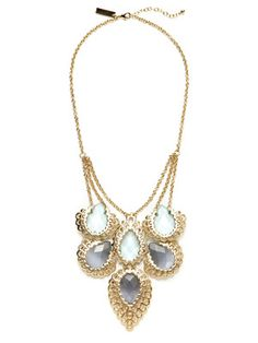 Kendra Scott Jewelry Giselle Scalloped Teardrop Bib Necklace