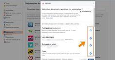 Antes de instalar um aplicativo no Facebook, primeiro passo é dar uma boa lida nos termos assinalados no novo aplicativo, principalmente com login em redes sociais que já tem dados pessoais.