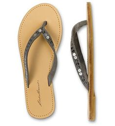 sequined flip flops from EB
