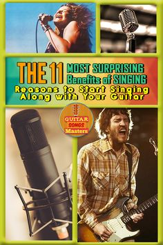 The 11 Most Surprising Benefits of SINGING – Even More Reasons to Start Singing along with Your Guitar! Best Acoustic Guitar, Acoustic Guitar Lessons, Guitar Tips, Guitar Songs, Guitar Chords, Acoustic Guitars, Singing Lessons Online, Online Guitar Lessons, Singing Tips