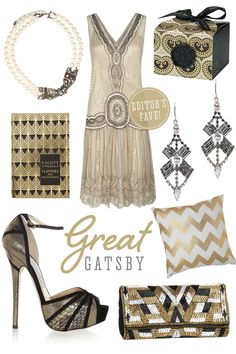 Lovely Wedding Magazine blog: Great Gatsby Inspiration The Great Gatsby, Great Gatsby Party Outfit, Great Gatsby Fashion, Great Gatsby Wedding, 20s Fashion, Vintage Fashion, 1920s Wedding, Party Wedding, Wedding Ideas