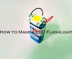 "A flashlight (""torch"" outside North America) is a portable hand-held electric light. Usually, the source of the light is an incandescent light bulb or light-emitting diode (LED).Now I am going to instruct how to make a LED flashlight with less number of components.Get Started.."