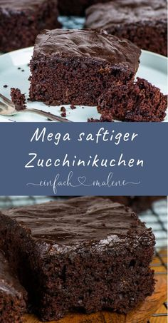 Are you looking for a recipe for zucchini cake? Then be sure to try this simple .- Are you looking for a recipe for zucchini cake? Then be sure to try this simple and super juicy chocolate zucchini cake! Easy Vanilla Cake Recipe, Chocolate Cake Recipe Easy, Easy Cake Recipes, Cupcake Recipes, Baking Recipes, Cake Chocolate, Chocolate Topping, Looking For A Recipe, Snacks Sains