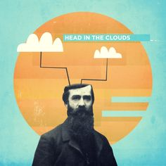 head in the clouds Art Print by Pope Saint Victor | Society6