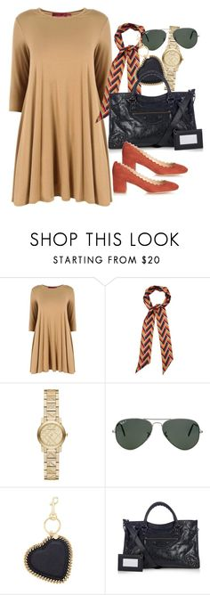 """Untitled #2266"" by erinforde ❤ liked on Polyvore featuring Gucci, Burberry, Ray-Ban, STELLA McCARTNEY, Balenciaga, Chloé, women's clothing, women's fashion, women and female"