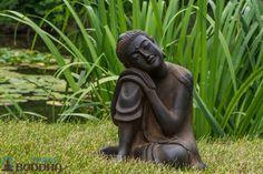 Our super popular Resting Buddha  http://www.bighappybuddha.com/smregabust.html