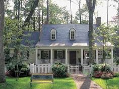 Sweet cottage #cottage #exterior