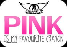 pink is my faVourite crayon~