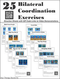 25 Bilateral Coordination Exercises