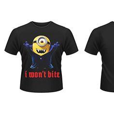 Camiseta Minions I Won`t Bite Xl #camiseta #starwars #marvel #gift