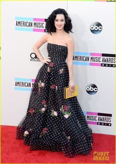 Katy Perry - AMAs 2013 Red Carpet |