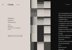 Web design inspiration: Grette.no