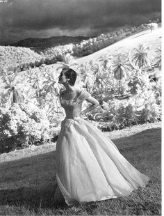 Mary Jane Russell by Toni Frissell, Tryall Plantation, Jamaica, Harper's Bazaar, 1948