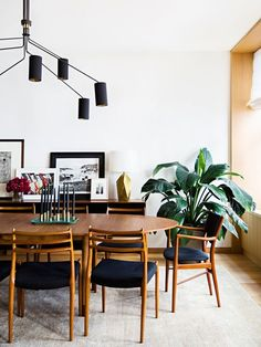 mid century modern dining room                                                                                                                                                                                 More