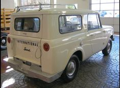 1965 International Scout 80 -- Pretty sure I'd sell my Bronco for this one.