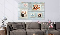 Collage-Rahmen Retro East Urban Home Größe: 79 cm H x 119 cm B Stylish Photo Frames, Love Picture Frames, Mirrored Picture Frames, Picture Wall, Wooden Picture, Hazelwood Home, Home Additions, Modern Pictures, Retro