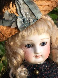 Wonderful French Fashion Bisque Doll Cruchet Brevet | eBay