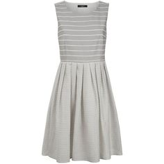 f5f178929d MaxMara Weekend Giubba Striped Dress ( 325) ❤ liked on Polyvore featuring  dresses