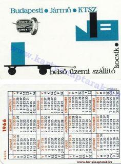 1966 - 1966_0015 - Régi magyar kártyanaptárak