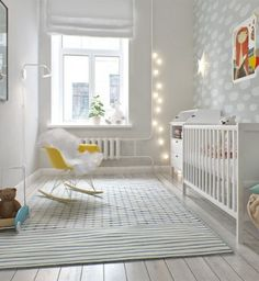 Today we take a look at 21 Best Scandinavian Nursery Design Ideas that embrace this timeless style with exquisite modern flair. Scandinavian Nursery, Scandinavian Interior, Scandinavian Style, Baby Bedroom, Baby Boy Rooms, Kids Bedroom, Childrens Bedroom, Ideas Habitaciones, Ideas Prácticas