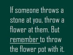 If someone throws a stone at you funny quotes quote lol funny quote funny quotes humor Daily Quotes, Me Quotes, Just For Laughs, Videos Funny, Make You Smile, Laugh Out Loud, The Funny, Wise Words, I Laughed